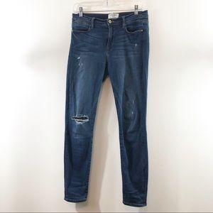 Frame Le High Rise Skinny Church Street Jeans 28